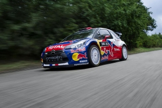 Free Citroen DS3 WRC Picture for Android, iPhone and iPad