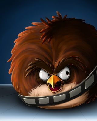 Free Angry Birds Artwork Picture for Nokia Asha 311