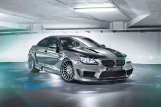 BMW M6 Coupe Hamann Background for Android, iPhone and iPad