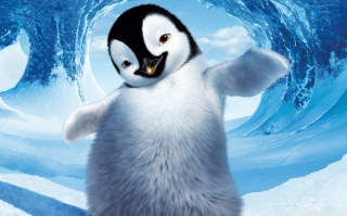 Happy Feet 2 Movie Background for Android, iPhone and iPad