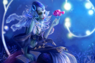 Mermaid And Fish Picture for Android, iPhone and iPad