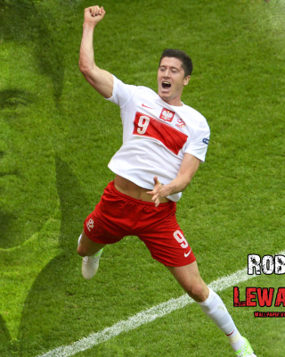 Kostenloses Robert Lewandowski Wallpaper für iPhone 4S