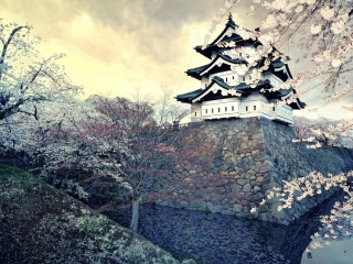 Hirosaki Castle Japan Wallpaper for Android, iPhone and iPad