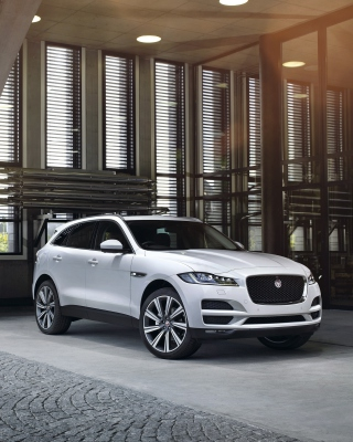 Jaguar F Pace S Background for iPhone 6