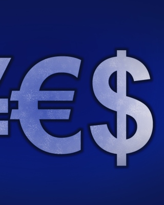 Japanese Yen, Euro, Dollar Symbol Wallpaper for Nokia Asha 306