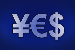 Japanese Yen, Euro, Dollar Symbol Wallpaper for Android, iPhone and iPad