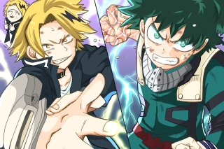 Kaminari Denki & Midoriya Izuku Picture for Samsung Galaxy Ace 3