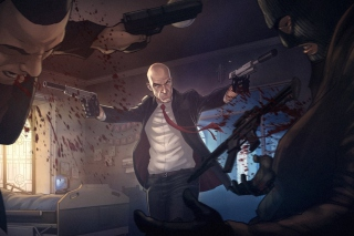 Hitman Background for Android, iPhone and iPad