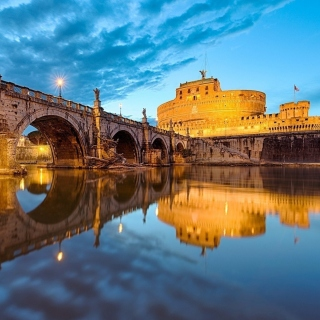 Free St Angelo Bridge Picture for 208x208