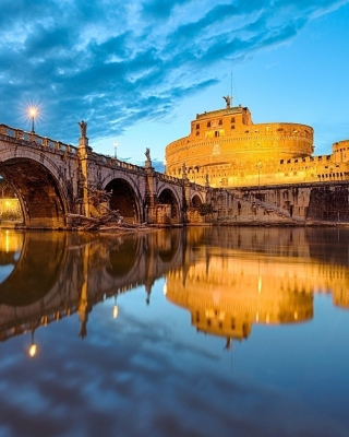 Free St Angelo Bridge Picture for Nokia Asha 310