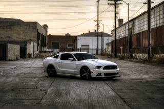 Ford Mustang GT 643 Background for Android, iPhone and iPad
