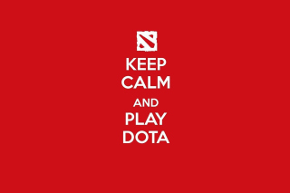 Keep Calm and Play Dota - Obrázkek zdarma