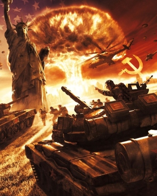 World War III sfondi gratuiti per iPhone 6 Plus