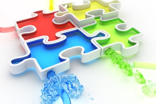 Colorful Puzzles - Fondos de pantalla gratis para Widescreen Desktop PC 1440x900