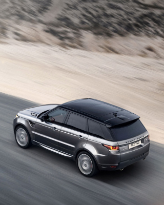 Free Land Rover Range Rover Picture for Nokia Asha 308