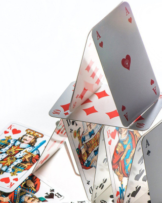Deck of playing cards - Fondos de pantalla gratis para Nokia Asha 308