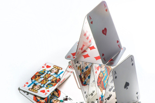 Deck of playing cards - Fondos de pantalla gratis para Nokia Asha 200