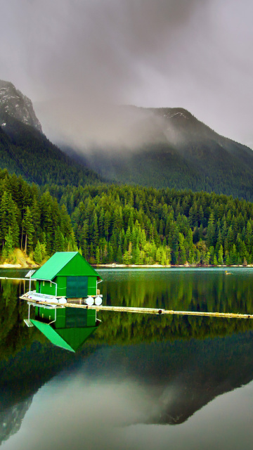 Screenshot №1 pro téma Capilano Lake in North Vancouver 360x640