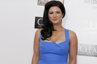 Gina Carano HD Background for Android, iPhone and iPad