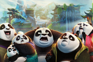 Kung Fu Panda 3 Background for Android, iPhone and iPad