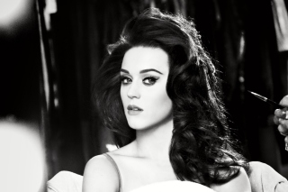 Katy Perry Black And White - Obrázkek zdarma