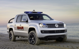 Volkswagen Pickup Concept Wallpaper for Android, iPhone and iPad