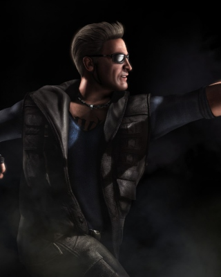 Johnny Cage Mortal Kombat 10 Background for Nokia Asha 311