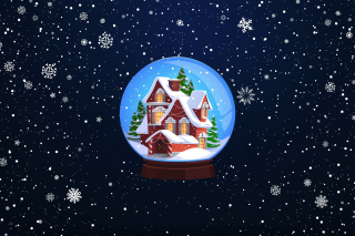 Christmas Souvenir Background for Android, iPhone and iPad