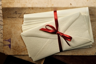 Vintage Envelopes Background for Android, iPhone and iPad