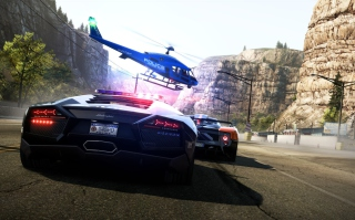 Kostenloses Need for Speed: Hot Pursuit Wallpaper für LG P700 Optimus L7