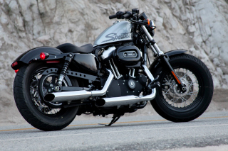 Harley Davidson Sportster 1200 Background for Android, iPhone and iPad