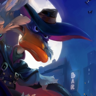 Darkwing Duck TV Series sfondi gratuiti per iPad mini