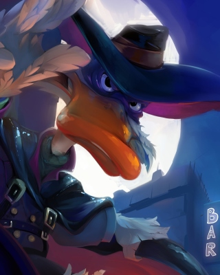 Kostenloses Darkwing Duck TV Series Wallpaper für iPhone 5