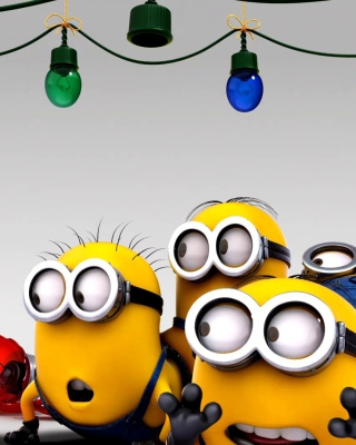 Despicable Me New Year Background for Nokia C2-05