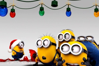Despicable Me New Year Background for Android, iPhone and iPad