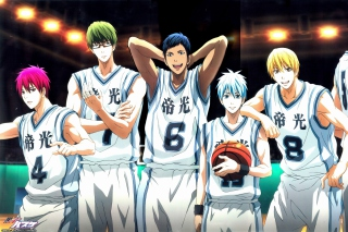 Akashi Seijuurou, Kise Ryouta, Aomine Daiki in Kuroko no Basket Background for Android, iPhone and iPad