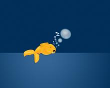 Sleepy Goldfish para 220x176