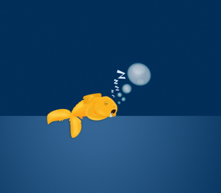 Sleepy Goldfish sfondi gratuiti per iPad 3
