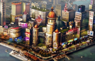 Sims City Picture for Samsung Galaxy
