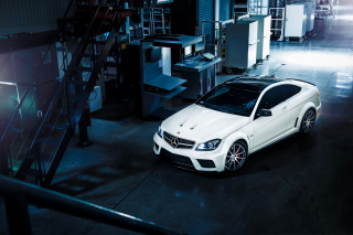 Mercedes Benz C63 AMG Picture for Android, iPhone and iPad