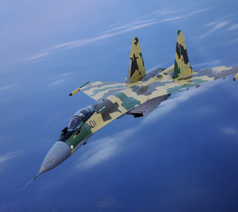 Sukhoi Su 35 screenshot #1 960x854