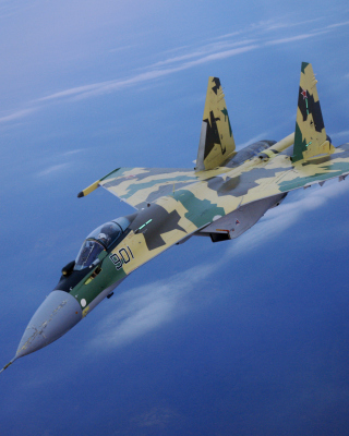 Free Sukhoi Su 35 Picture for 240x320