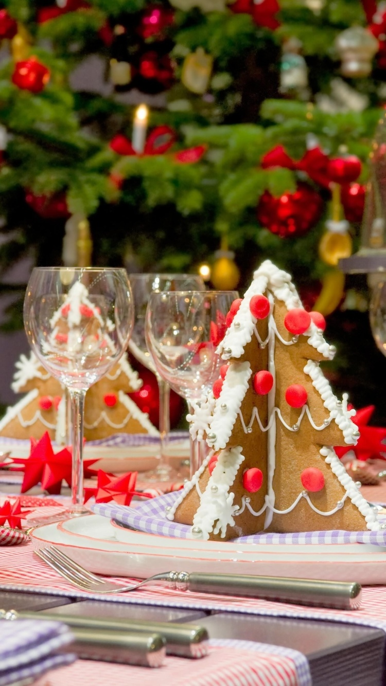Screenshot №1 pro téma Christmas Table Decorations Ideas 750x1334