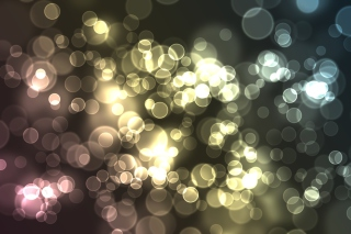 Free Abstract Light Bubbles Picture for Android, iPhone and iPad