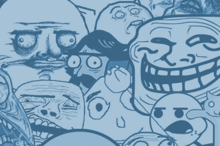 Rage Comics Background for Android, iPhone and iPad