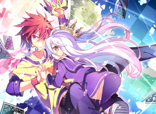Sora and shiro - No Game No Life sfondi gratuiti per Sharp Aquos SH80F
