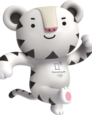 2018 Winter Olympics Pyeongchang Mascot Picture for Nokia C5-06