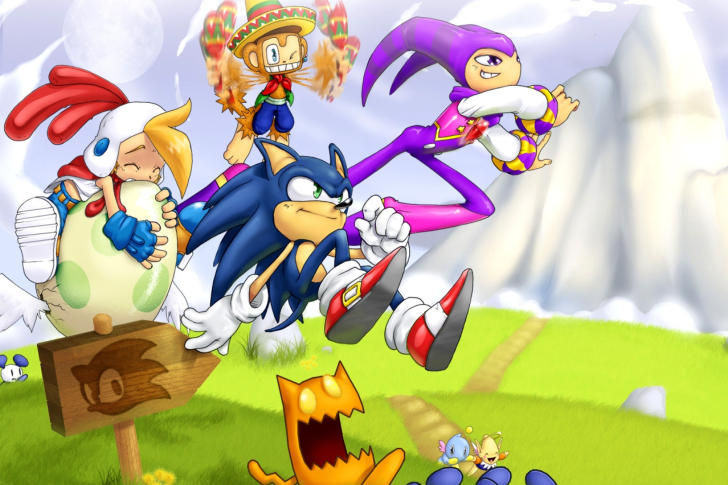 Sfondi Sonic the Hedgehog