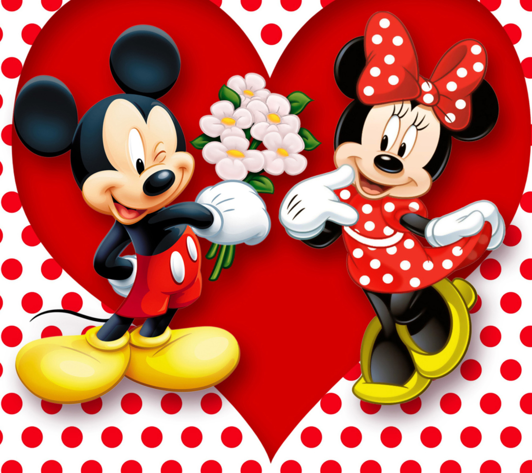 Mickey And Minnie Mouse para Motorola RAZR XT910