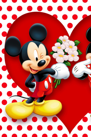 Mickey And Minnie Mouse para Huawei G7300